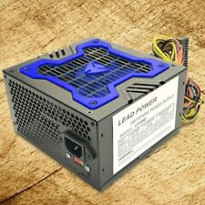 Brand NEW-Lead Power 650w-MAX BLUE ATX Power Supply 20+4Pin SATA & PCIe