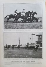 Opening Of The Racing Season, At Bennings, Washington DC Jockey Club, 1906 Print