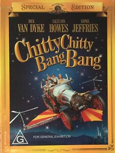 Chitty Chitty Bang Bang Special Edition 2 Discs DVD Set Very Rare Free Postage