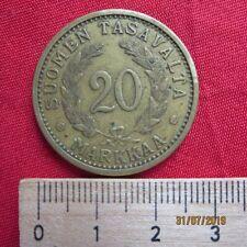 Finnland - Finland 20 Markkaa 1937 - I