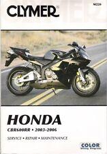 2003 2004 2005 2006 Honda CBR600RR Clymer Service Repair Maintenance Manual M220