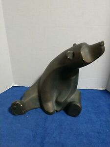 Rare Collectors Piece -The Modern Bear- by Alexander Danel -Austen Sculptures