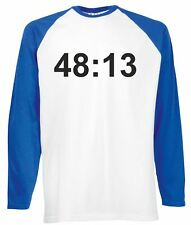 48:13 Men's Long Sleeve Baseball T-Shirt Music Kasabian Album Gift Present Cool