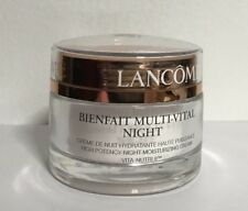 Lancome Bienfait Multi-Vital High Potency Night Moisturizing Cream 1.7oz NEW