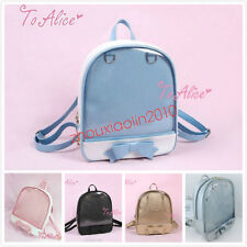 Cute Tie Bags Shoulders Bag Itabag Lolita Transparent Jelly Candy Clear Bow