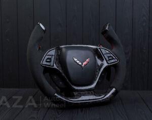 Chevrolet Corvette C7 Custom Steering Wheel Carbon fiber Zo6 Grand Sport