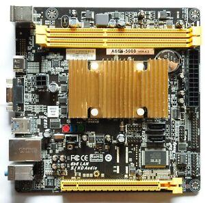 Biostar A68N-5000 APU Ver: 6.2 AMD Sockel BGA Dual Channel DDR3 Mini-ITX A4-5000