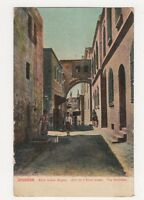 Palestine, Jerusalem, Via Dolorosa Postcard, B215