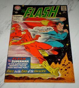 Flash #175 NM 9.4 Cr/OW pgs 1967 DC 2nd Superman vs Flash race