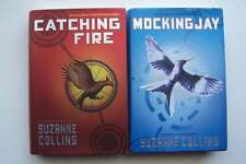 Suzanne Collins The Hunger Games Book 2 & 3 Hardcover Lot