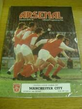 24/08/1974 Arsenal v Manchester City  . Item In very go