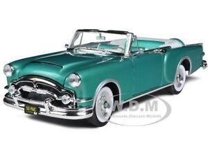 1953 PACKARD CARIBBEAN GREEN 1/18 DIECAST CAR MODEL BY ROAD SIGNATURE 92798