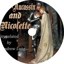 Aucassin and Nicolette, Andrew Lang Medieval Romance Love Audiobook on 1 MP3 CD
