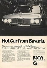 1971 BMW Bavaria Under $5000 PRINT AD
