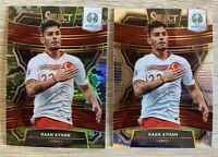 2020 Panini Select UEFA Euro Soccer Kaan Ayhan Turkey - CAMO PRIZM #1/60 + base