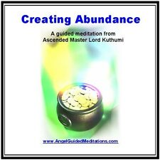 Angel Guided Meditation CD No 13 - CREATING UNLIMITED ABUNDANCE -  LORD KUTHUMI
