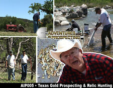 TEXAS GOLD PROSPECTING AND RELIC HUNTING WITH BOO COO Educational DVD