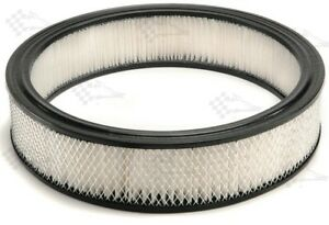 """14"""" x 3"""" Replacement Round Air Cleaner Filter Element - Edelbrock Holley"""