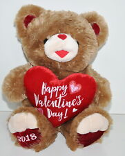 DanDee Sweetheart Teddy Bear Happy Valentines Day Heart Plush Stuffed Animal