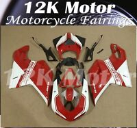 DUCATI 848 1098 1198 2007 2008 2009 2010 2011 2012 2013 Fairings Kit Bodywork 22