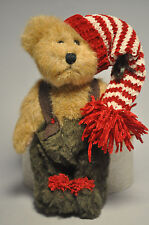 Boyds Bears & Friends: Earnie Elfbeary - 6 Inch Plush - Red and White Cap