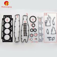 For PEUGEOT 307 206 EW10J4 Full Engine Gasket Cylinder Head Engine Part 0197.Y1F