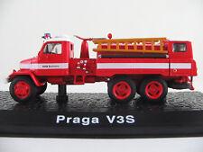 "DeAGOSTINI #49 Praga V3S (1953) ""Feuerwehr Kudlobice (CZ)"" in rot/weiß 1:72 NEU"