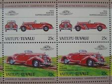 1935 AUBURN 851 Supercharged Car 50-Stamp Sheet / Auto 100 Leaders of the World
