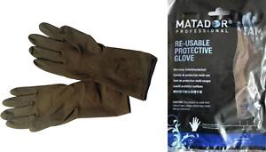 "Matador Professional Re-Usable Rubber Gloves Size 6.5"""