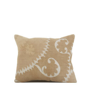 "14"" x 17"" Pillow Cover Suzani Pillow Cover Vintage FAST Shipment With UPS 09636"