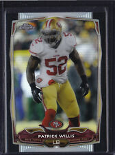2014 TOPPS CHROME BLACK REFRACTOR PATRICK WILLIS 8 49ERS MISSISSIPPI REBELS /299