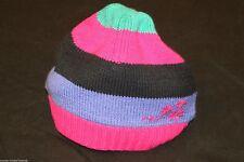 Gestreifte Baby-Hüte & -Mützen aus Baumwollmischung für Mädchen