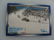 RED BYRON #22 on OLD DAYTONA COURSE  - CARD #153 -TG RACING'91 Masters of Racing