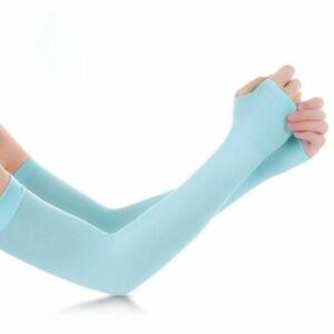 Arm Sleeves 1 Pair Warmers UV Protection Running Cycling Driving Men Women Bands
