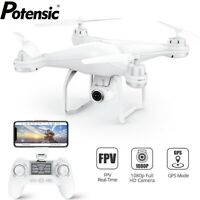 Potensic T25 GPS Drone FPV RC Quadcopter with 1080P HD Camera WiFi FPV Drones