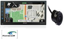 "Jensen CMN8620 6.8"" Mechless Multimedia Navigation Receiver 2-DIN With Camera"