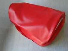 Motorcycle seat cover -Red  Yamaha  DT125MX