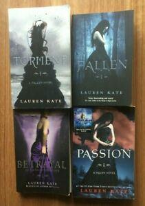 Lauren Kate 4x book bundle Fallen series1-3 Torment Passion The Betrayal PB