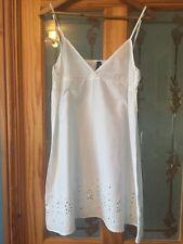 Topshop white summer sun dress beach Size S