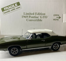 Danbury Mint 1969 Pontiac GTO Convertible 1/24 Scale LIMITED EDITION