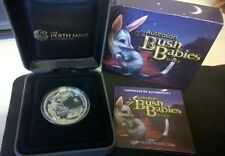 2011 FIFTY CENT - SILVER PROOF- *BILBY* - *BUSH BABIES SERIES* 1/2 OZ