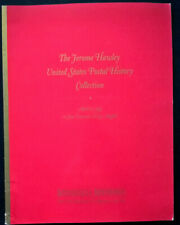 Auction Catalogue JEROME HAWLEY UNITED STATES POSTAL HISTORY Collection