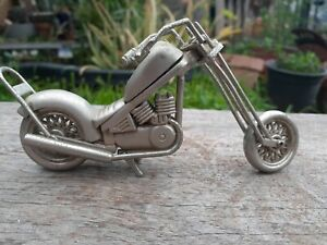 COLLECTABLE MADEL HARLEY DAVIDSON HAND MADE HOME MADE FROM METAL