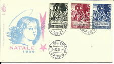 1959 First Day Cover Stamp  NATALE  From Citta Del Vaticano