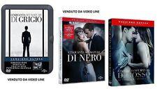 DVD Cinquanta Nuances:Gris/noir / rouge 3 Vers prolongée.+Porte-photo # nouveau