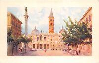 B3764 Italy Roma Basilica di S Maria Maggiore  front/back scan
