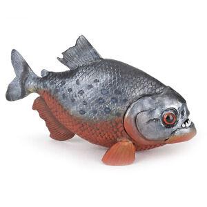 PAPO Marine Life Red-Bellied Piranha Figure - 50253