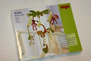 NEU * HABA * Mobile Wilde Tiere * 300338 - Baby Spielzeug Dekoration individuell