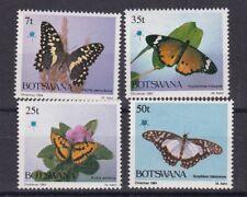 Botswana 1984 farfalle 503-6 MHN