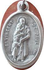 Saint St. Vincent de Paul Medal + Charity Hospitals Volunteers + NS